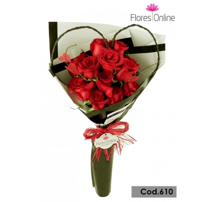 Bouquet Mi Corazón en tus Manos(Cod.610)