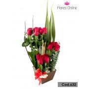 Arreglo Premiun 18 Rosas(Cod.632)