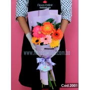 Bouquet 6 Gerberas (Cod.2001)