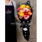 Bouquet Premium 12 Gerberas (Cod.2005)