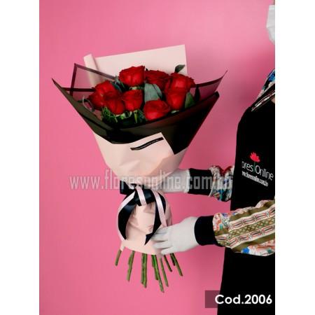 Bouquet Premuim 12 Rosas (Cod.2006)