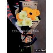 Bouquet Colores Vibrantes (Cod.2007)