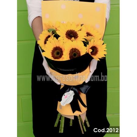 Bouquet Girasoles Grande (Cod.2012)