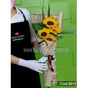 Bouquet Girasoles Mediano (Cod.2013)