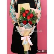 Bouquet 6 Rosas Premium (Cod.2021)