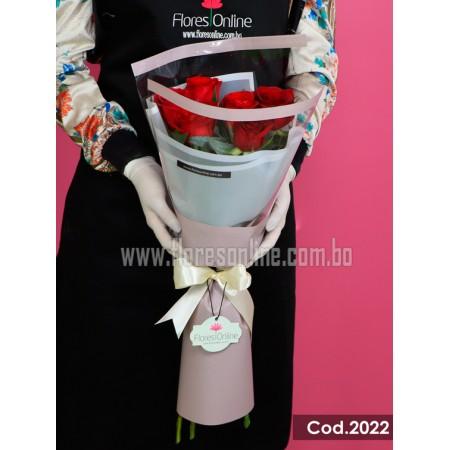 6 Rosas Elegante(Cod.2022)