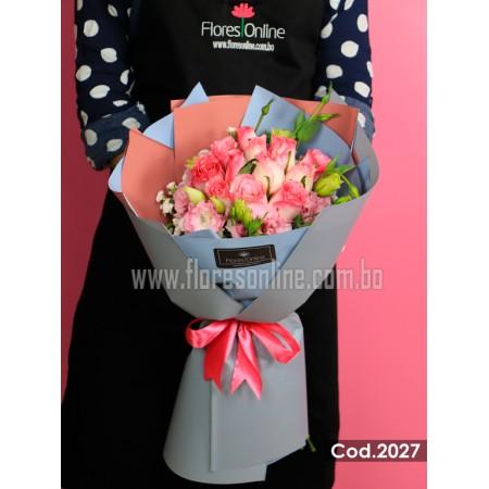 Bouquet Élite Rosa Malibu (Cod.2027)