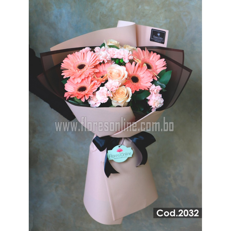Bouquet Luxury Rosa Pastel (Cod.2032)