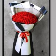 Bouquet Majestuoso 100 Rosas (Cod.2037)