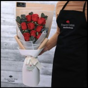 Bouquet 9 Rosas Rojas (Cod.2102)