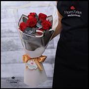 Bouquet 6 Rosas Premium (Cod.2105)