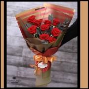 Bouquet Elegancia 9 Rosas (Cod.2109)
