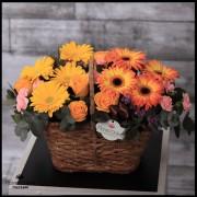 Cesta Grande Mix de flores (Cod.2112)