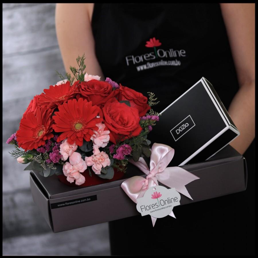 Flores y Brigadeiros Gourmet (Cod.2119)