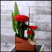 Rosas Moderno y Elegante (Cod.2121)