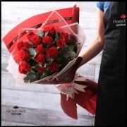 Bouquet Espiral 18 Rosas Premium (Cod.2122)