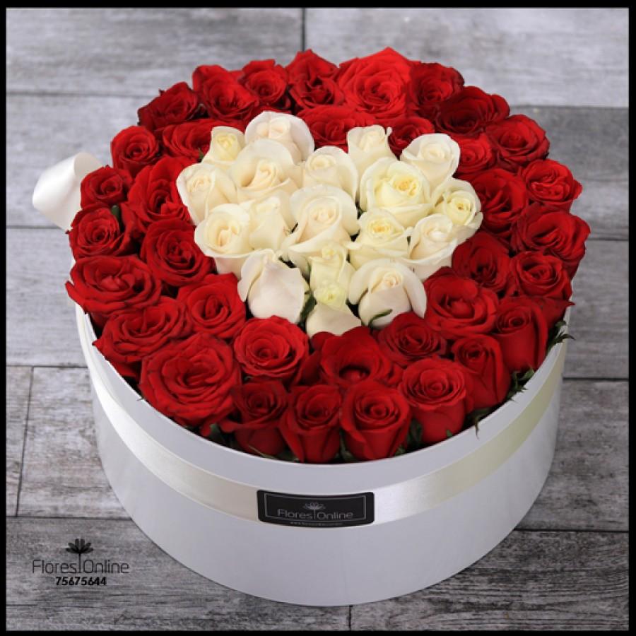 Corazón Entregado 60 Rosas (Cod.2127)