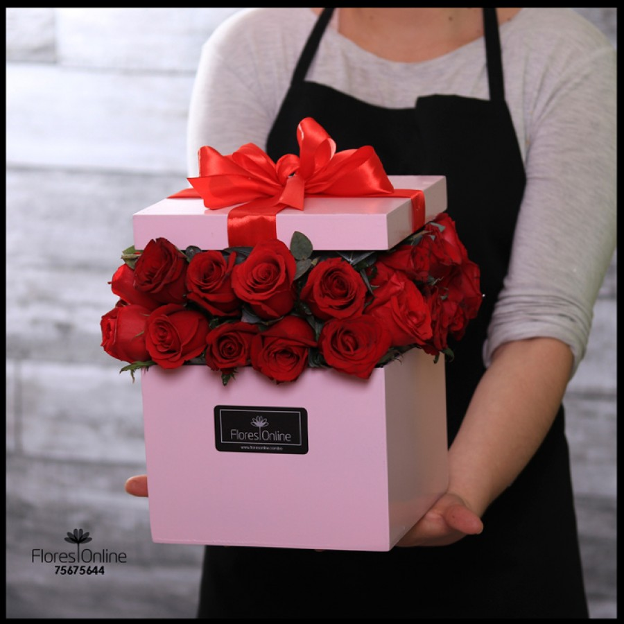 Romántica Sorpresa Rosas (Cod.2128)