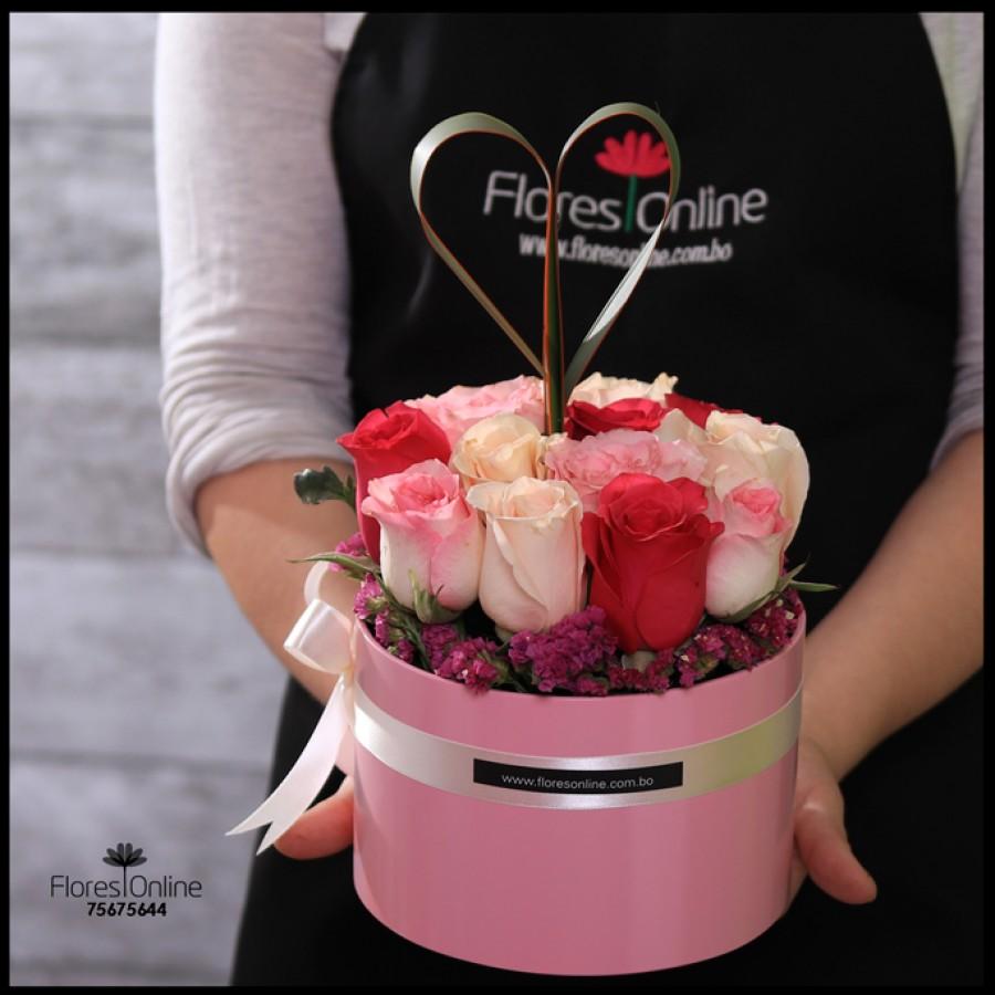 Detalle Rosas Tonos Pastel (Cod.2130)
