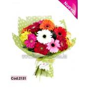 Bouquet 18 Gerberas Premium (Cod.2131)