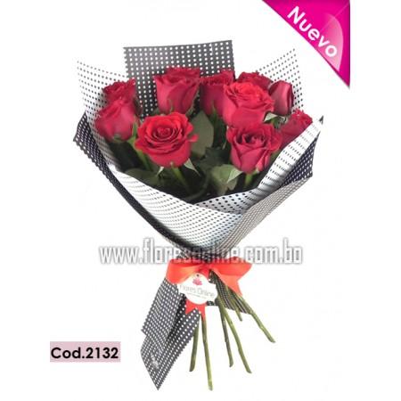Bouquet Luxury 12 Rosa Premium (Cod.2132)
