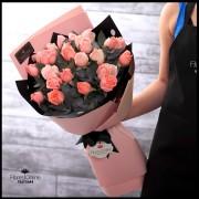 Bouquet 24 Rosas Rosadas (Cod.2135)