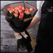 Bouquet 18 Rosas Blush (Cod.2140)