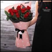 Bouquet 12 Rosas Rojas (Cod.2143)