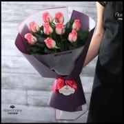 Bouquet 9 Rosas Malibu (Cod.2148)