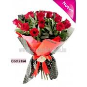 Bouquet 18 Rosas Premium (Cod.2154)