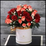 Arreglo 36 Rosas Rojo Blush (Cod.2182)