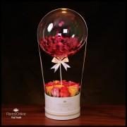 Rosas Primaverales y Globo (Cod.2250)