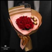 Bouquet Corazón y Chocolates (Cod.2308)