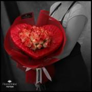 Bouquet Romántico Rosa Blush (Cod.2317)