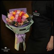 Bouquet Color y Alegría Rosas (Cod.2321)