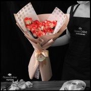 Bouquet Elegancia 24 Rosas Blush (Cod.2325)