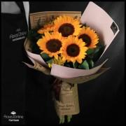 Bouquet buenas nuevas amor Girasoles (Cod.2330)