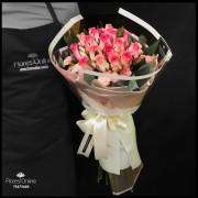 Bouquet Romántico Rosa Malibú (Cod.2337)