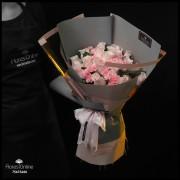 Bouquet Delicadeza Rosas y Clavelinas (Cod.2343)