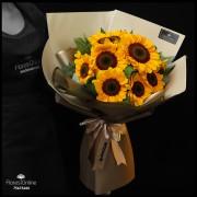 Bouquet Premium 10 Girasoles (Cod.2344)