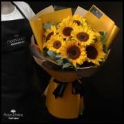 Bouquet Girasoles Premium (Cod. 2363)