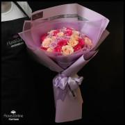 Bouquet Premium 36 Rosas Pastel (Cod.2364)
