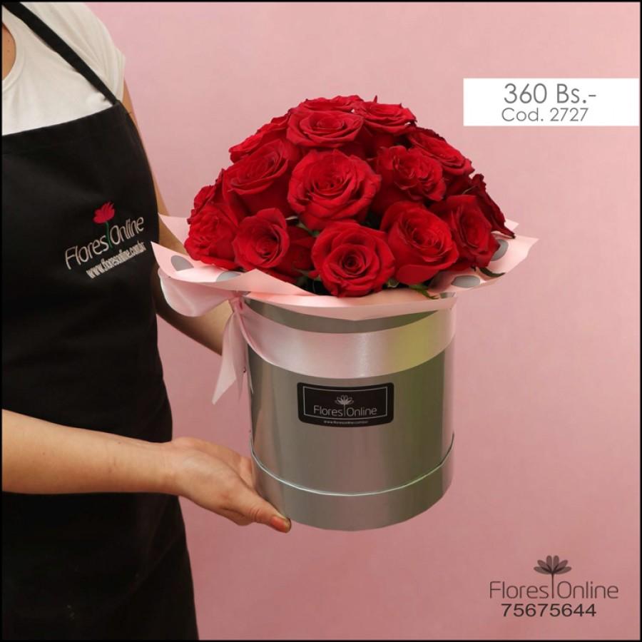Arreglo 25 Rosas Premium (Cod.2727)