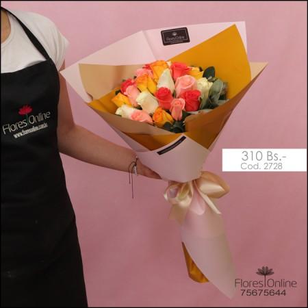 Bouquet Color y Alegria (Cod.2728)