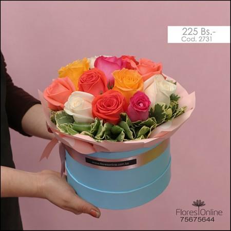 Detalle Colorido Rosas (Cod.2731)