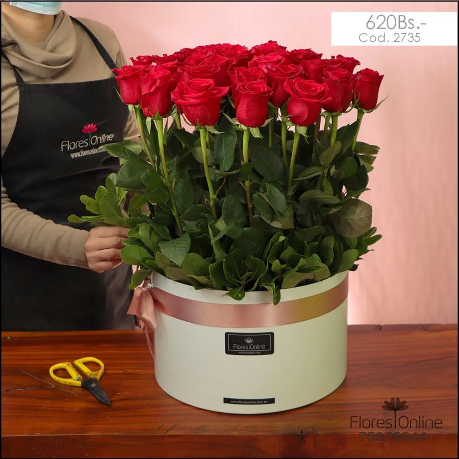 Majestuoso Rosas Importadas (Cod.2735)