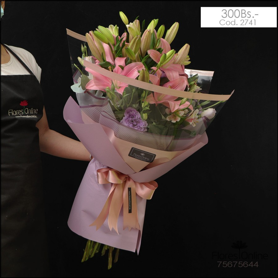 Bouquet Mix Lirios (Cod.2741)