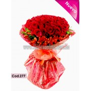 Bouquet Amor Infinito 60 Rosas