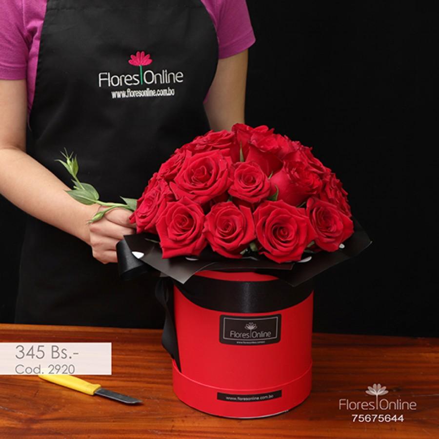 Arreglo Pasión Rosa Roja ( Cod.2920)