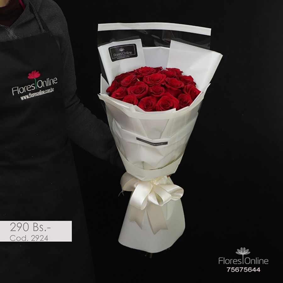 Bouquet Elite 18 Rosas (Cod.2924)